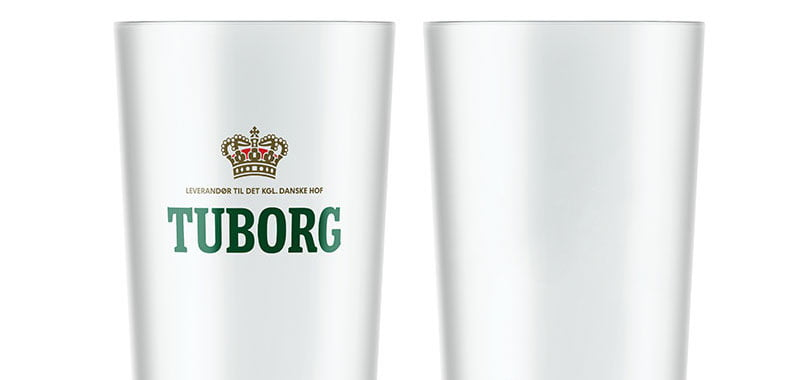 Tuborg, recyclable plastic cups