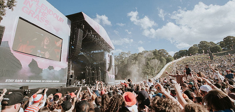 Tinder comes to Splendour in the Grass