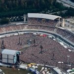 Ed Sheeran played to 100,000 people at the Hockenheimring with FKP Scorpio