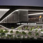 An artist's impression of the Las Vegas Stadium