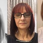 New MMF board members Jill Hollywood, Liza Buddie and Rebekah Tayler