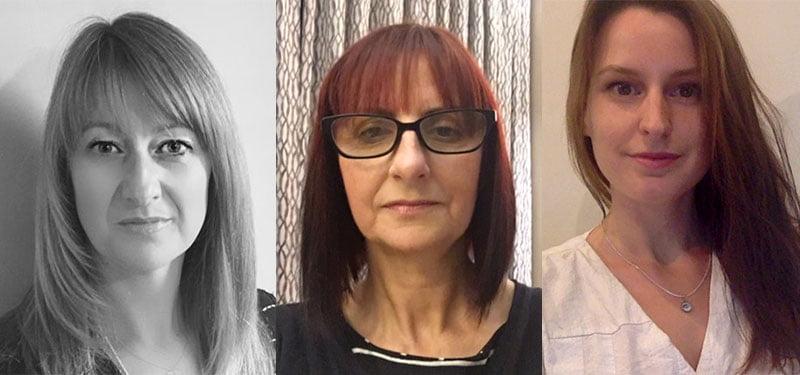 New MMF board members Jill Hollywood, Liza Buddie and Rebekah Tayler
