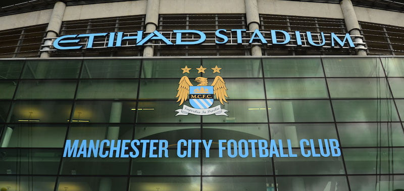 Manchester City FC ground Etihad Stadium