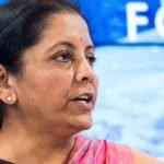 Indian finance minister Nirmala Sitharaman
