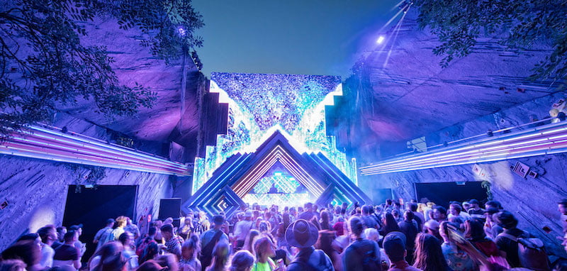 Lucid's Samula made its debut at Glastonbury Festival this year
