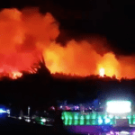 Fire at Fresh Island festival forces evacuation