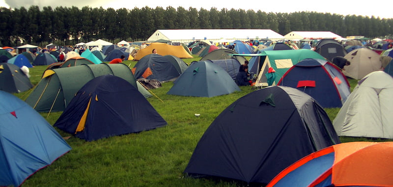 Green organisations urge festival tent tax