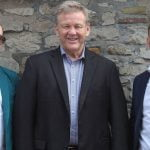 L–R: New MJR UK team Dan Ickowitz-Seidler, Geoff Jones, Richard Buck