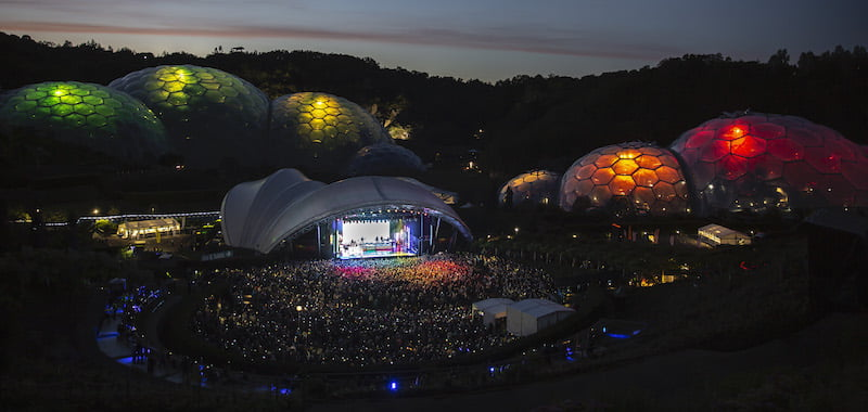 AEG Presents partners with Eden Project for Eden Sessions
