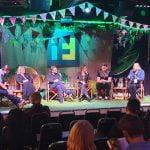L–R: Lowe, Sjölund, Ziolkowski, Beedell-Tuck, Thanscheidt, Warby, Festival Season 2019
