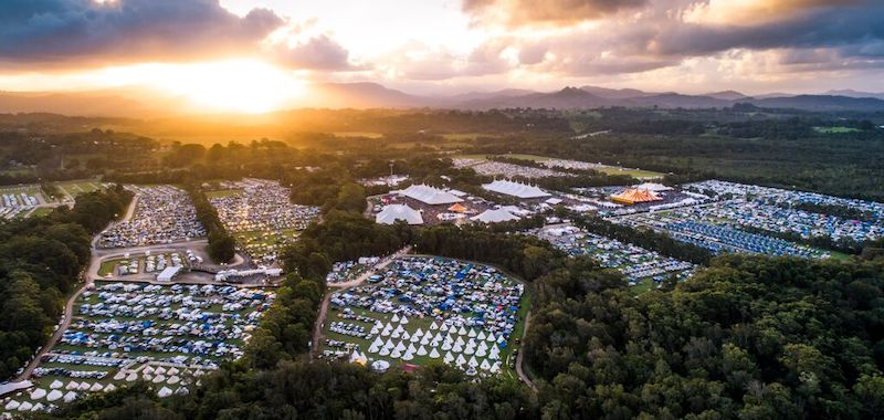 Spending and attendance up at Byron Bay Bluesfest
