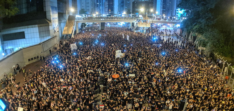 Millions of Hongkongers have taken to the streets to protest for democracy