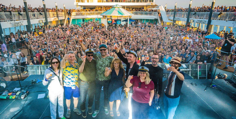 Sixthman's new music cruises include the Boaty Weekender with Belle and Sebastian