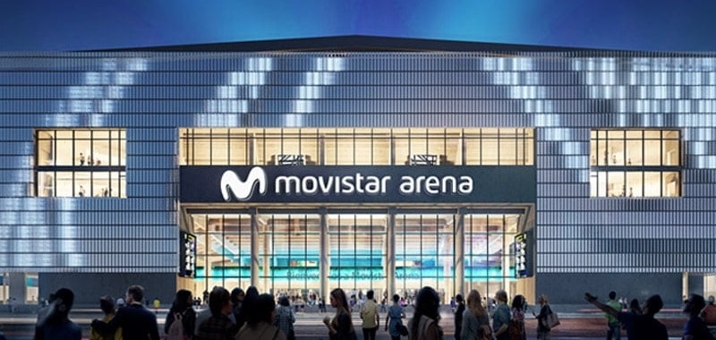 Buenos Aires Arena renamed to Movistar Arena