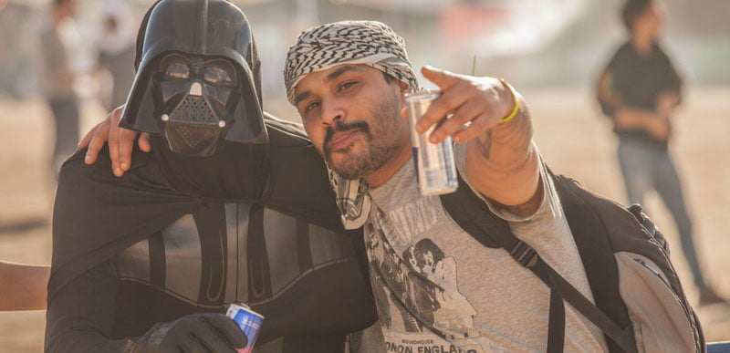 Darth Vader returns to his Moroccan hometown for Les Dunes Electroniques