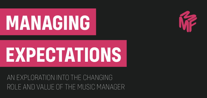 MMF report calls for review of music managers' role