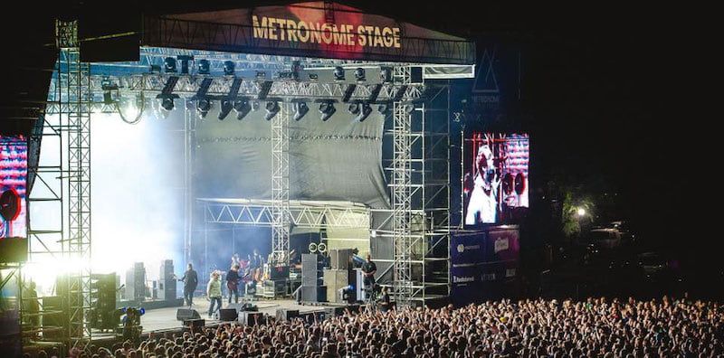 Liam Gallagher performs at Metronome Festival 2019