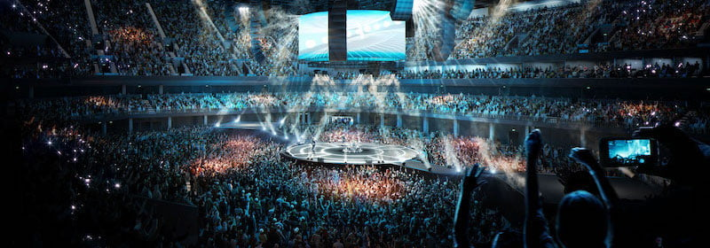 """The venue will have an interior bowl that """"brings artists and fans closer together than ever before"""""""
