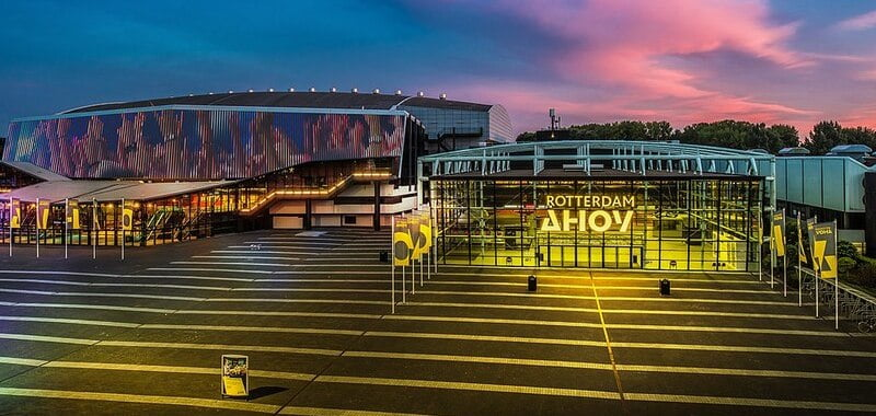 Rotterdam Ahoy is a member of the EAA