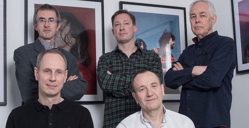 Primary directors Peter Maloney, Matt Bates, Andy Wooliscroft (back), Ben Winchester, Peter Elliott (front)