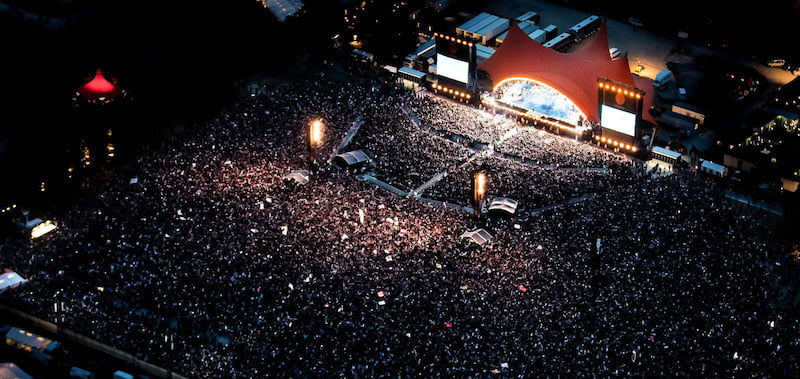 Festivals Stand United: Roskilde sold out its full-week tickets earlier this month