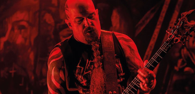 Slayer visited Quito, Ecuador, as part of their final tour, promoter by CKConcerts