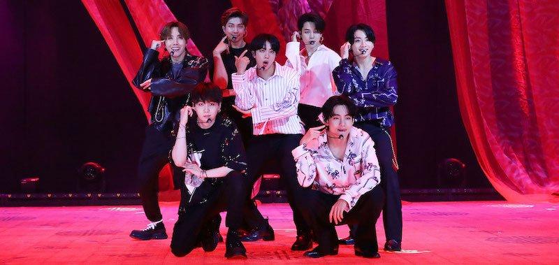 BTS perform during Bang Bang Con: The Live