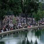 2,000 attend concert at Accor Arena in Paris