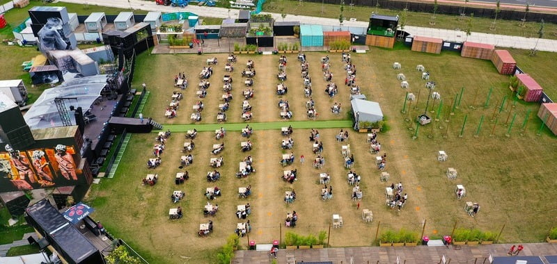 Rock Werchter's Covid-safe Summer Bar attracts 15,000