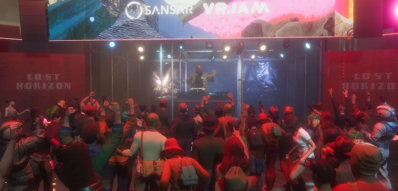 A full house for Carl Cox at the Los Horizon Gas Tower stage
