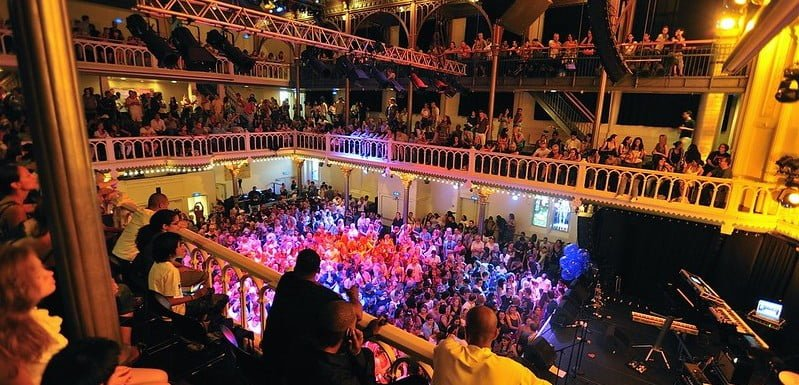 Paradiso in Amsterdam received €100,000 from the Kickstart Culture Fund