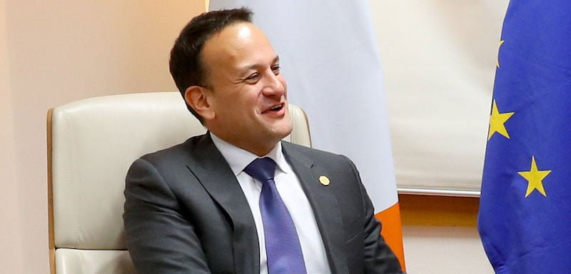 Irish deputy PM (tánaiste) Leo Varadkar brought forward the 2020 bill