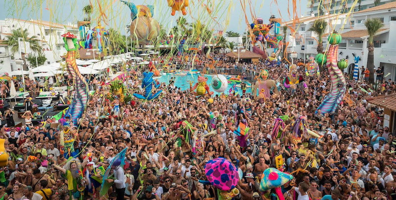 Elrow organises colourful party events in 26 countries