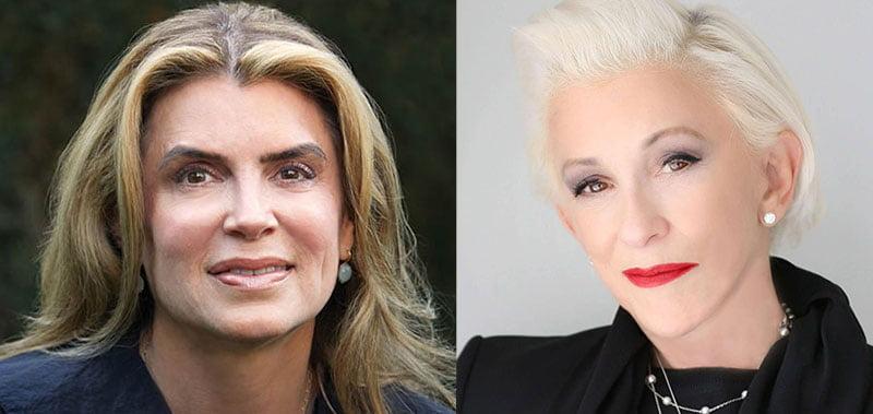 Michele Bernstein and Marsha Vlasic (L–R)