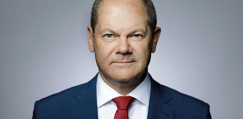 Germany's finance minister Olaf Scholz