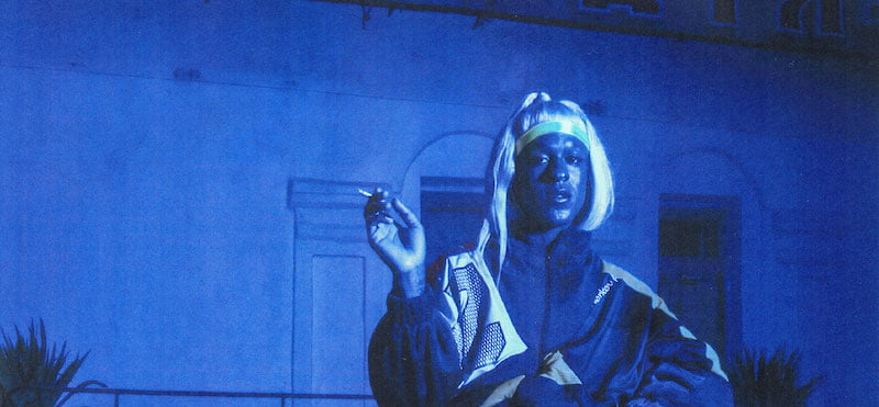 Mykki Blanco has collaborated with artists including Kanye West, Madonna and Charli XCX