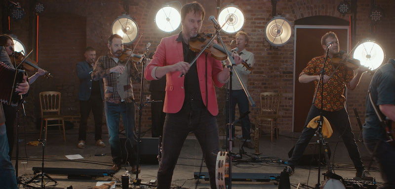 Bellowhead launched Crosstown Concerts' streaming platform