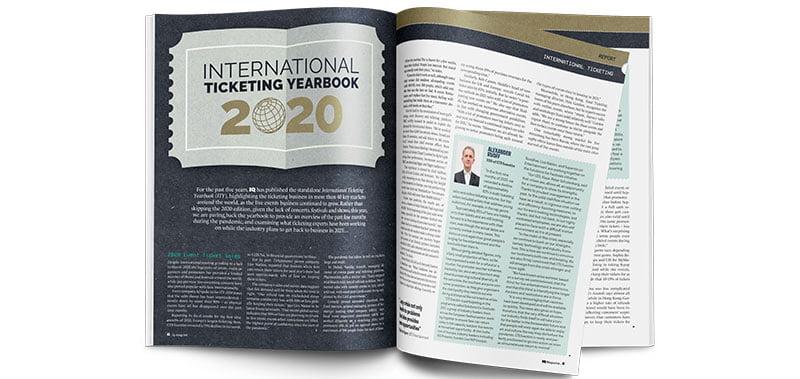 International Ticketing Yearbook (ITY) 2020, IQ 95