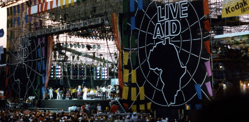 "The proposal has been dubbed ""Live Aid' after the 1985 concert held simultaneously in the UK and US"