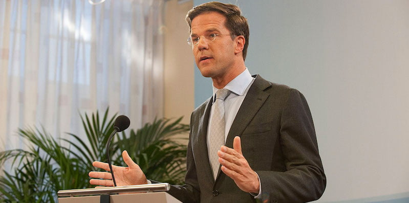 Dutch prime minister Mark Rutte has extended lockdown until 9 February