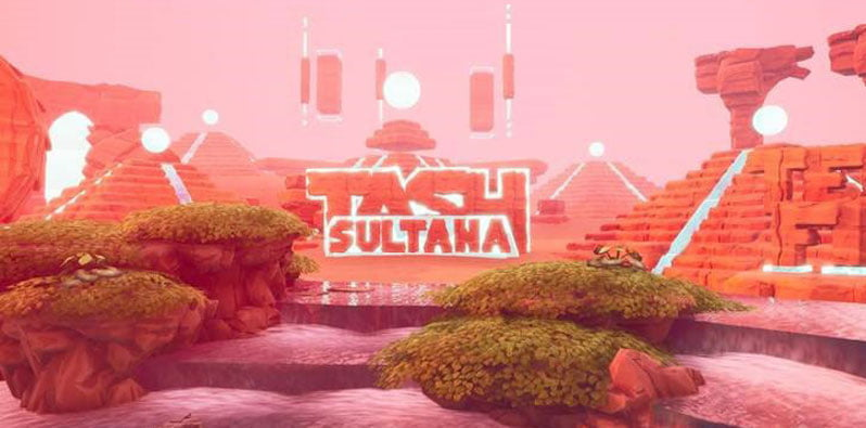 Tash Sultana's 'Terra Firma' custom map in Fortnite