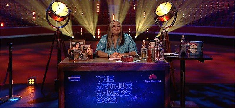 Arthur Awards 2021 host Emma Banks