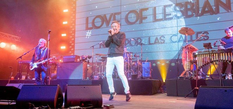 Love of Lesbian, Festivals per la Cultura Segura pilot show