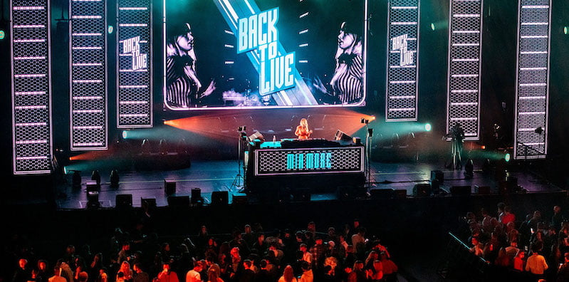 Sam Feldt, Lady Bee and Sunnery James and Ryan Marciano performed on Saturday night