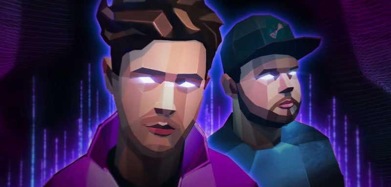 Royal Blood's Mike Kerr and Ben Thatcher as Roblox avatars