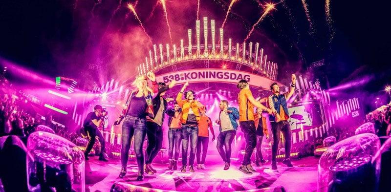 This year's Fieldlab-backed 538 Koningsdag would have been called 538 Oranjedag