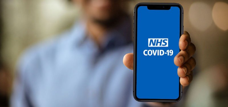The Covid-status certification system could use the National Health Service's Covid-19 app