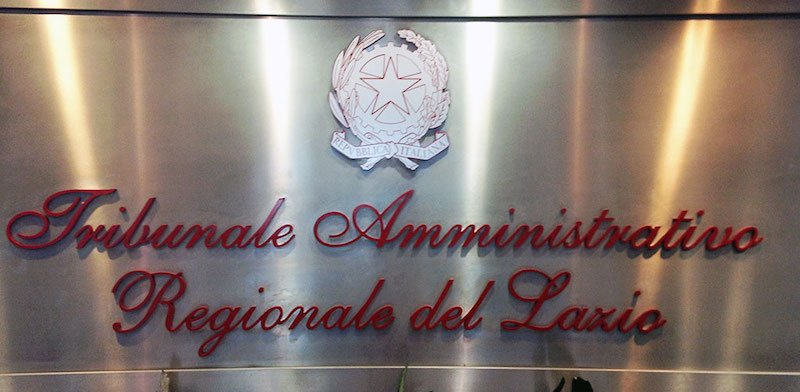 The judgment was made by the regional administrative court in Lazio