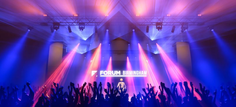 Rendering of Forum Birmingham's interior
